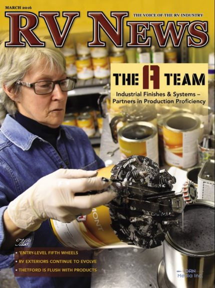 RV News Magazine March 2016 Front Cover