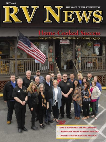 RV News Magazine May 2016 Front Cover