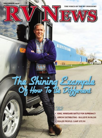 RV News Magazine December 2016 Front Cover