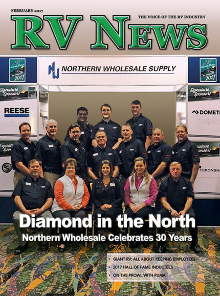 RV News Magazine February 2017 Front Cover