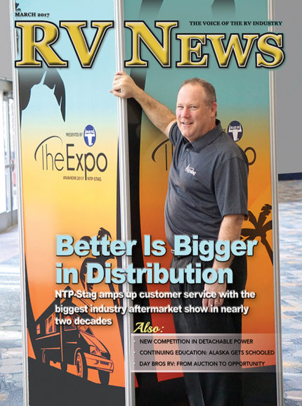 RV News Magazine March 2017 Front Cover