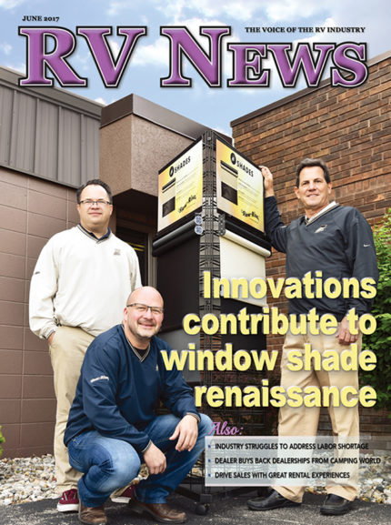 RV News Magazine June 2017 Front Cover