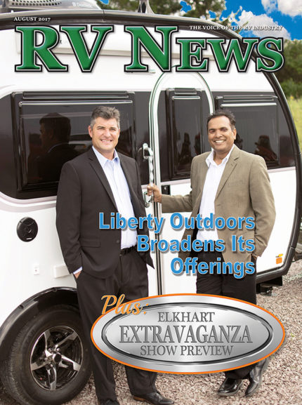 RV News Magazine August 2017 Front Cover