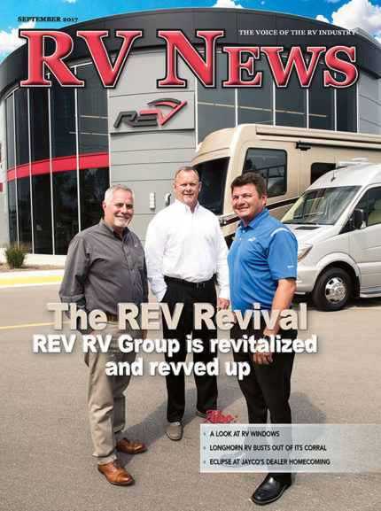 RV News Magazine September 2017 Front Cover