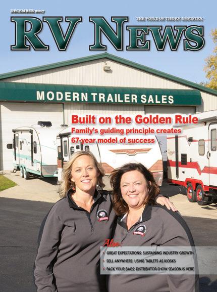 RV News Magazine December 2017 Front Cover