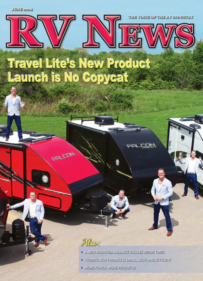 RV News Magazine June 2018 Front Cover