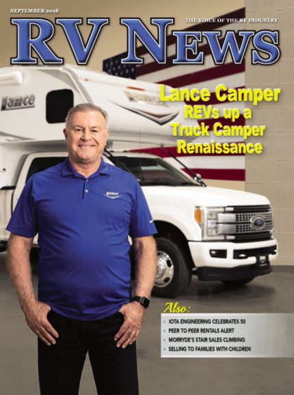 RV News Magazine September 2018 Front Cover