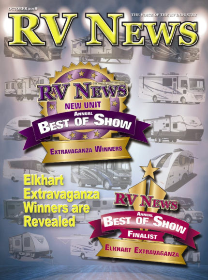 RV News Magazine October 2018 Front Cover