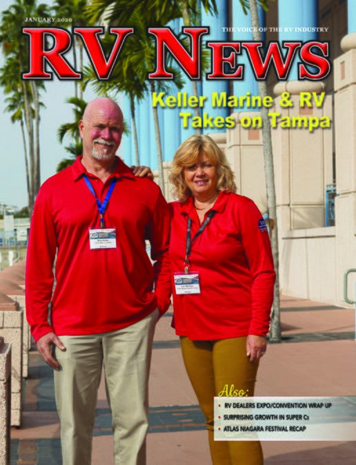 RV News January 2020 front cover