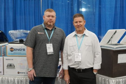 Photo of Robert Kauffman and Mike Wilhoff of Hengs Industries