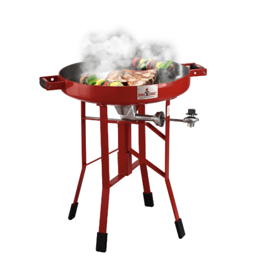 FireDisc gas grill