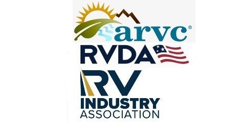 ARVC, RVDA and RVIA logos