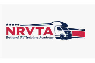 the logo for the National RV Training Academy