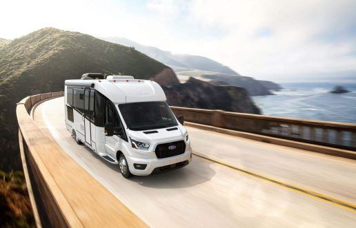 A photo of the new Wonder model by Leisure Travel Vans