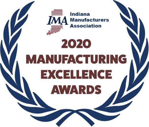 An image of the Indiana Manufacturers Association 2020 Awards logo